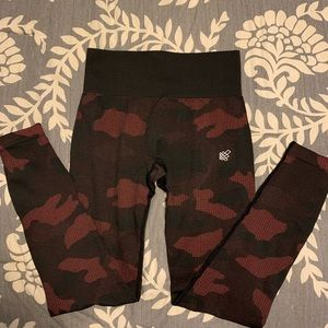 Jed North Pink Camo leggings